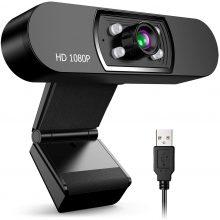 Zacro Webcam USB di Rete HD 1080P