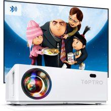 Proiettore Bluetooth TOPTRO Videoproiettore 7200 Lumen Full HD – TR81