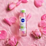 Nivea Doccia Olio In Gel Naturally Good Essenza di Rosa e Arricchito con Olio bio –  6 Pezzi da 300ml