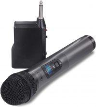 Trevi EM 401 R Microfono Wireless Dinamico