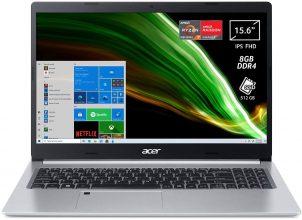 Acer Aspire 5 A515-45-R2J2 PC Portatile, Notebook, AMD Ryzen 7 5700U