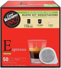 Caffè Vergnano 1882 Cialde Ese Espress 50 Pezzi + Kit