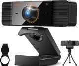 Webcam 2K Webcam Full HD 1440P con microfono PC