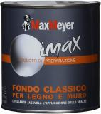 Maxmeyer 162718C400001 Fondo a solvente per Interni ed Esterni Legno e Muro Bianco 0,5 L