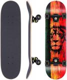 WeSkate tavola da Skateboard Completa tavola in Legno 79x20cm