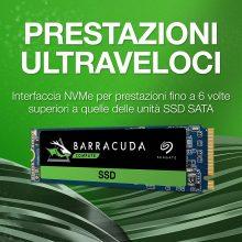 Seagate BarraCuda 510 M.2 SSD, 500 GB – ZP500CM3A001