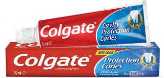 Colgate Dentifricio Protezione Carie con Calcio – 75 ml