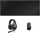 Mars Gaming MCPPRO – Pacchetto PRO Mouse 9800 DPI, Auricolare 7.1 e Mouse Pad XL