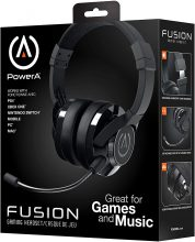 PowerA Fusion Cuffie da Gioco Cablate con Microfono Staccabile
