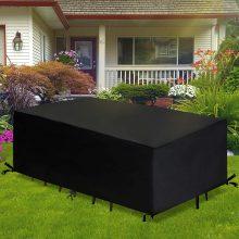 GEMITTO Rivestimento per mobili da giardino – 190x117x61cm