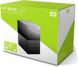 Western Digital WD My Book Desktop Hard Disk Esterno RAID USB 3.1 – 4TB