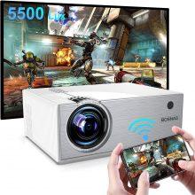 BOSNAS Nativo 720P Mini Videoproiettore Portatile