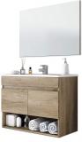 13Casa Oslo V01 Set Mobile Bagno + Specchio