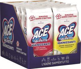 ACE Salviette Igienizzanti Mix Alcool + Sgrassanti – 480 Salviette