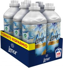 Lenor Ammorbidente Lavatrice Concentrato, 336 Lavaggi (6 x 56), Limited Edition Ilary Blasi Intensamente Io Vivace