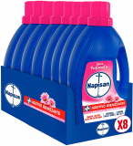 Napisan Additivo Igienizzante Lavatrice, Profumo Di Primavera, 8 Confezioni Da 1.2 Litri
