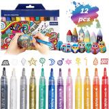 JOSEKO Penne Colorate, confezione da 12