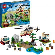 LEGO City Wildlife Operazione di Soccorso Animale, 60302