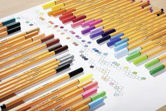 Fineliner – STABILO point 88 – Box Zebrui – Astuccio con 20 Colori assortiti