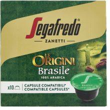 Segafredo Zanetti 10 Capsule Compatibili Dolce Gusto, Linea Le Origini Brasile – 1 Astuccio da 10 Capsule