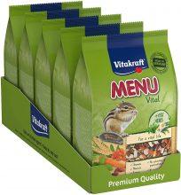 Vitakraft – 25142 – Menu Premium ecureuils in bustina Freschezza – 600 g Confezione da 5
