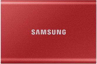 Samsung Memorie T7 MU-PC2T0R SSD Esterno Portatile da 2 TB