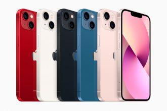 Apple iPhone 13 (128GB) – Azzurro