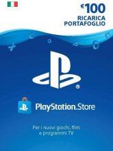 Credito PlayStation Network Card 100 EURO PSN Key ITALIA