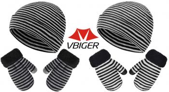 VBIGER – Set di guanti invernali per bambini