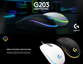 Logitech G203 LIGHTSYNC Mouse Gaming – Lilla
