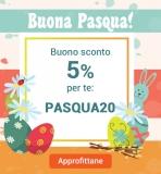 MONCLIK: SCONTO 5% al carrello con il Coupon di Pasqua