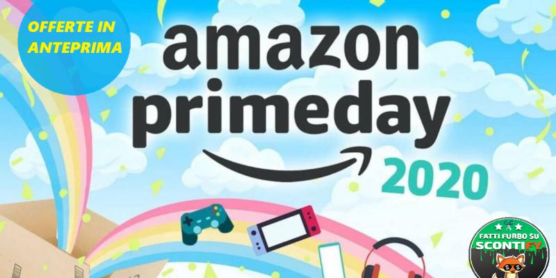 Amazon Prime day: Svelate le offerte, c'è anche il warehouse con -20%!