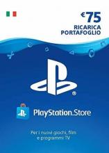 PlayStation Network Card 75€ credito (IT) PSN  ITALIA