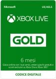 Abbonamento Xbox Live Gold 6 Mesi