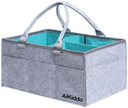 AiKiddo Diaper Caddy Cesto Neonato