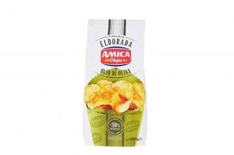 Amica Chips Eldorada con Olio di Oliva, 130g