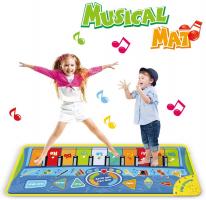 Anpro Tappetino Musicale per Bambini – 130x48cm