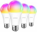 ANWIO Lampadina LED Smart Wifi Con Attacco E27 – 14W 1350Lm