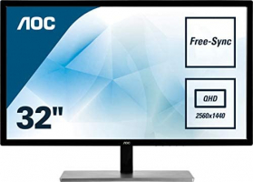 AOC Q3279VWFD8 Monitor da 32″ IPS