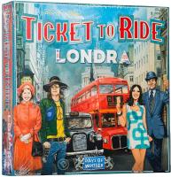 Asmodee- Ticket to Ride Londra Gioco da Tavolo Interamente in Italiano
