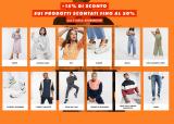 +15% DI SCONTO CON COUPON SUI PRODOTTI SCONTATI FINO AL 50%