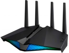ASUS Router RT-AX82U, AX5400 Dual Band WiFi 6 Gaming Router