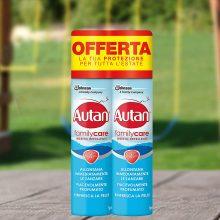 Autan Family Care Spray Bipacco  2 Confezioni da 100 ml