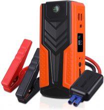 AWANFI C104 Avviatore Auto Booster Jump Starter Batteria 1200A 12V 18000mAh