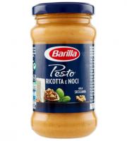 Barilla Sugo Pesto Ricotta e Noci, Pesto alla Siciliana, Senza Glutine – 190 gr