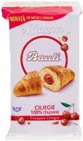Bauli Croissant Ciliegia, con Farcitura di Ciliegie 100% Italiane – I Classici – confezione da 10 pezzi