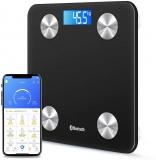 Bilancia elettronica digitale da bagno da 180 kg retroilluminata,