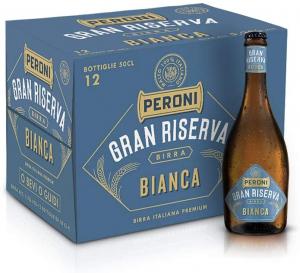 Birra Peroni Gran Riserva Bianca – 12 Bottiglie x 50 cl