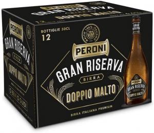 Birra Peroni Gran Riserva Doppio Malto – Cassa da 12 x 50 cl (6 litri)