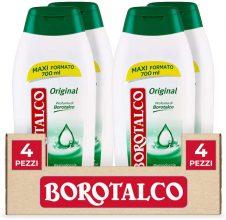Borotalco Bagnodoccia Original – 4 Flaconi da 700 ml